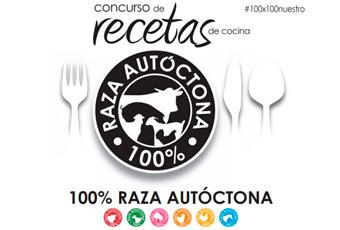 Logo del concurso 100% raza autoctona