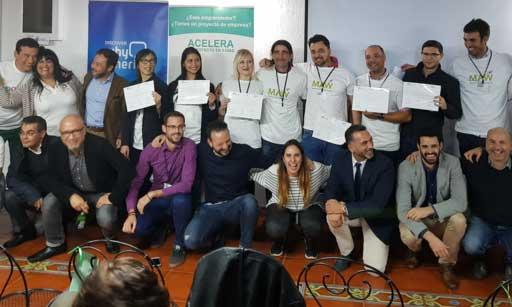 Emprendedores del programa Mentor Day