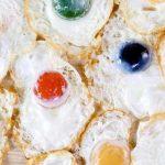Caparazones comestibles, cocina azul, huevos fritos de colores y más innovaciones en Madrid Fusión