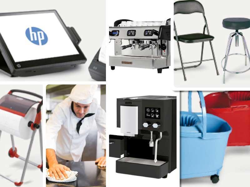 Diversos productos de la nuevatienda on-line para horecaHosteler.OD de Viking