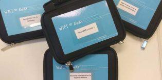 Huéspedes satisfechos: wifi portátil en el hotel