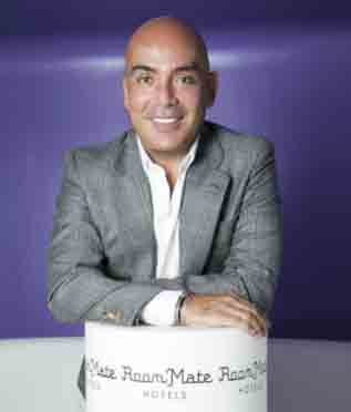 Kike Sarasola, presidente y fundador de Room Mate Group