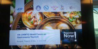 El IV Foro Mundial de Turismo Gastronómico se celebra este año en Bangkok