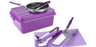 Kit antialérgico: utensilios para preparar y servir comidas sin alérgenos