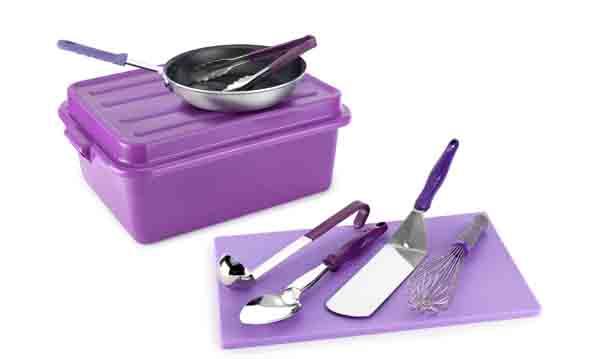 Elementos del Kit Antialérgico Violet Collection de Pujadas