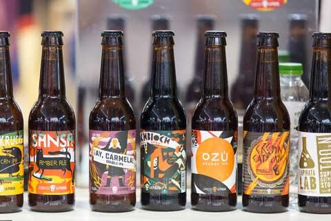 Cervezas artesanas en Restaurama 2016