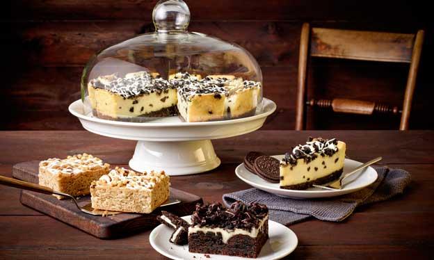 Brownies oscuro y rubio y un cheesecake con cookies: las nuevas referencias de pastelería americana de Erlenbacher