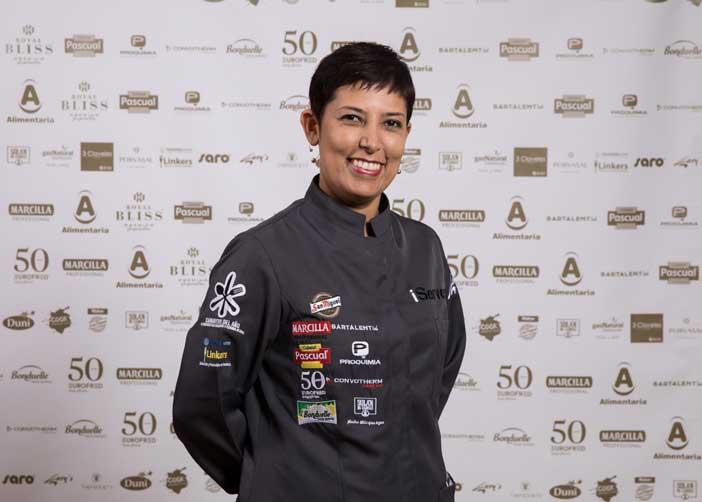 Ángela Marulanda, vencedora delIII Concurso Camarero del Año