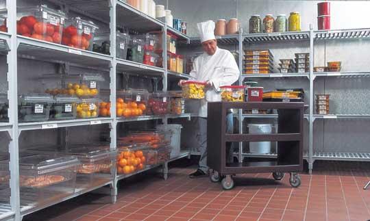 Camshelving Premium: estanterías sólidas y seguras para todos los restaurantes