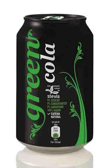 Lata de Green Cola - ProfesionalHoreca