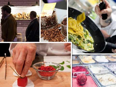 Productos y demostraciones gastronómicas en Restaurama 2016