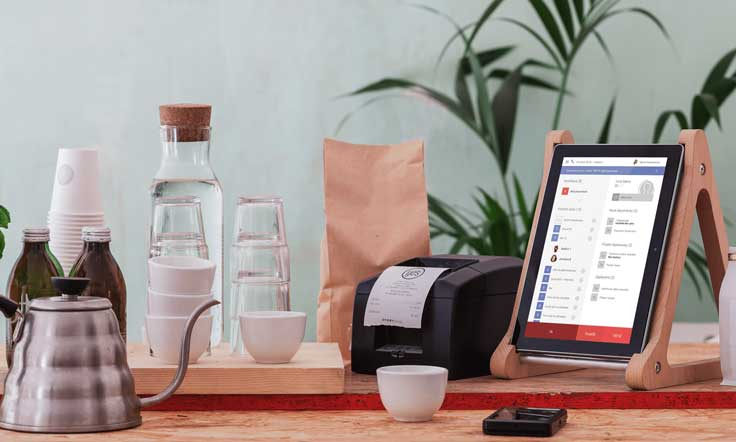 Storyous es un sistema de gestión fácil de instalar y utilizar a través de una tablet