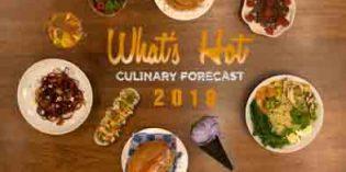 De lo local a lo vegetal: 20 tendencias alimentarias y 10 conceptos de restauración para 2018, según la NRA