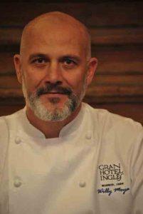 El chef Willy Moya