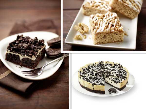 Los nuevos brownies y cheesecake de Erlenbacher