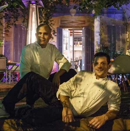 Jaime Lieberman y Jon Giraldo, chefs de Spoonik