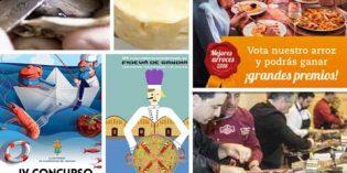 Mejores Arroces, Ñora y Langostino, Fideuá de Gandía y hasta 6 concursos gastronómicos a la vista