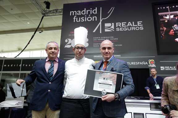 Toni Cusella. Mejor Pastelero de Restaurante en madrid Fusión