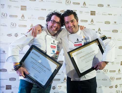 Semifinalistas del Concurso Cocinero del Año en Sevilla