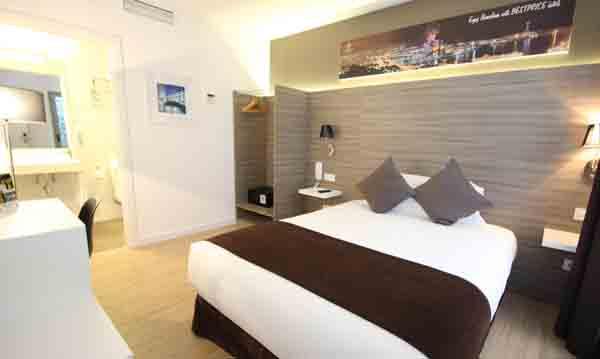 Habitación del hotel Bestprice Barcelona Gracia