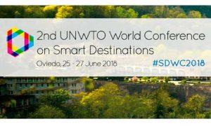 Logo del II Congreso Mundial de Destinos Turísticos Inteligentes