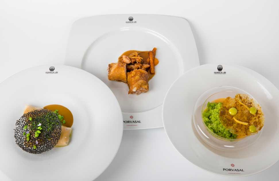 Menú de Antonio Rodríguez Bort, segundo ganador de la semifinal Cocinero del Año en Sevilla