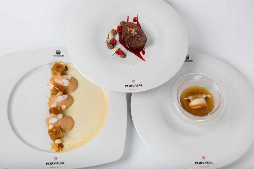 El menú de Francisco Javier Feixas, semifinalista del Concurso Cocinero del Año