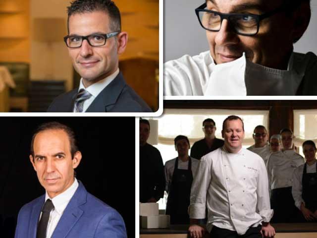 Los premiados por la Academia Internacional de Gastronomía