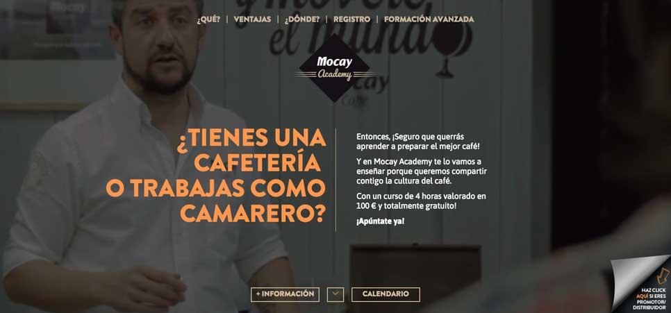 Home de Mocay Academy, de Calidad Pascual