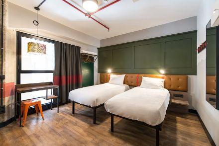 profesionalhoreca habitación del hostel Generator Madrid