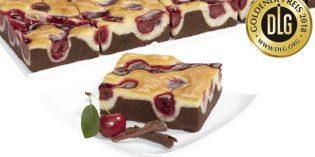Pastel crujiente de yogur y mango, Plancha de cereza: premios a la excelencia en pastelería para Erlenbacher