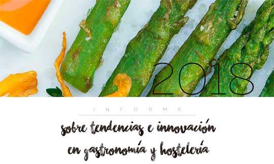 Portada del informe de Qualityfry - Tendencias e innovación en gastronomía y hostelería