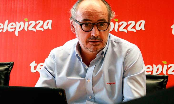 Pablo Juantegui, presidente ejecutivo y CEO de Telepizza