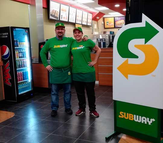 Los franquiciados del Subway de la madrileña calle Arcipreste de Hita