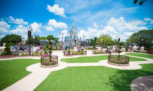 Disney World luce el césped artificial de Tarkett