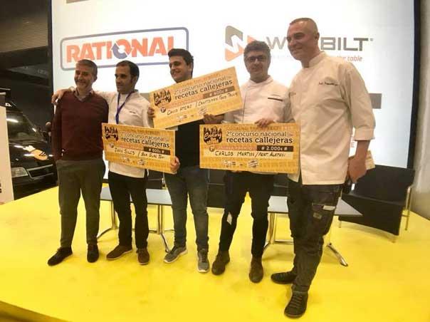 Los vencedores de la segunda edición del concurso Cooking The Street