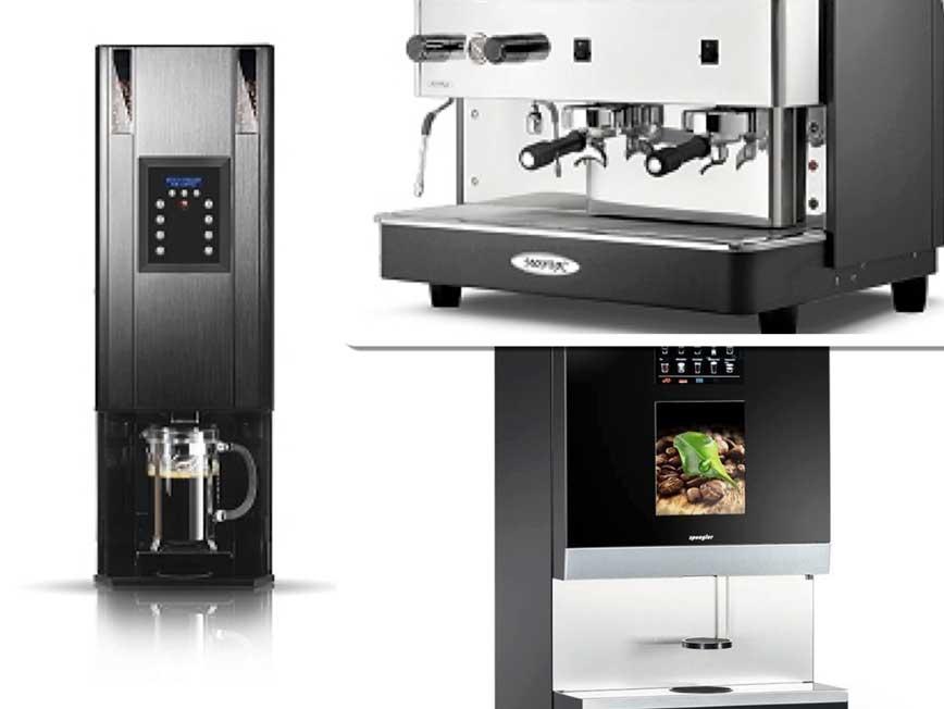 Máquinas de café de Crem international