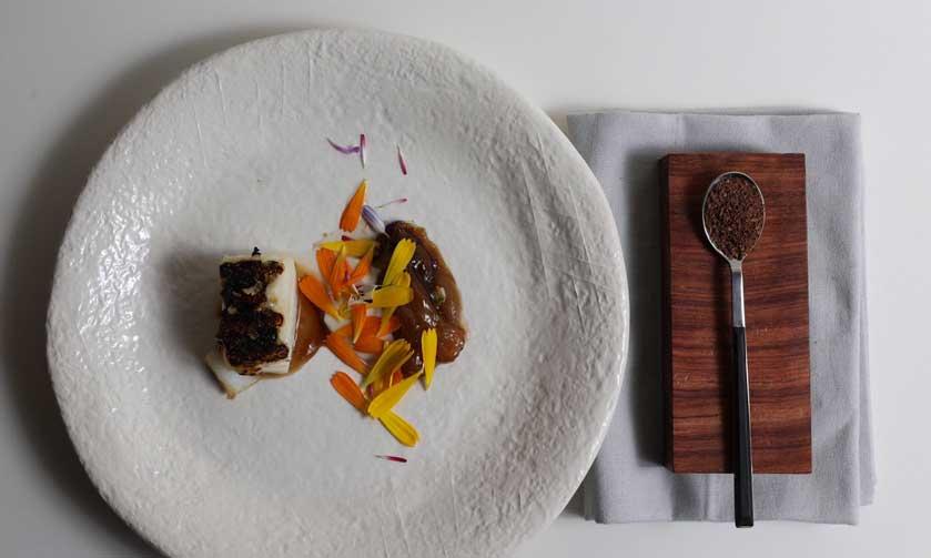 Bacalao, secuencia del dulce y el salado, el plato ganador del XVI Premio Giraldo