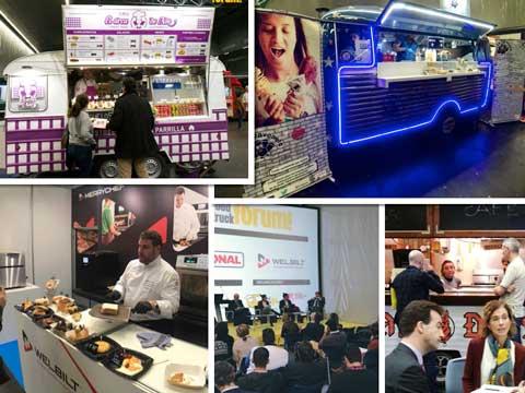 Imagenes del Food Truck Forum 2018, en Bilbao
