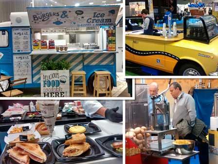 El Food Truck Forum 2018 mostró lo último en vehículos, productos y equipos para la comida sobre ruedas