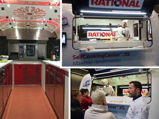 Food Truck de Rational en el Food Truck Forum