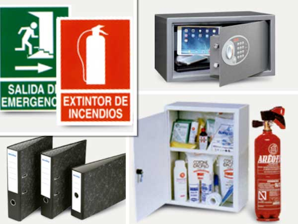 Elementos de seguridad y papelería en la tienda on-line Hosteler.OD de Viking