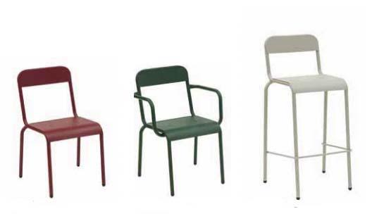 Silla, sillón y taburete Rimini