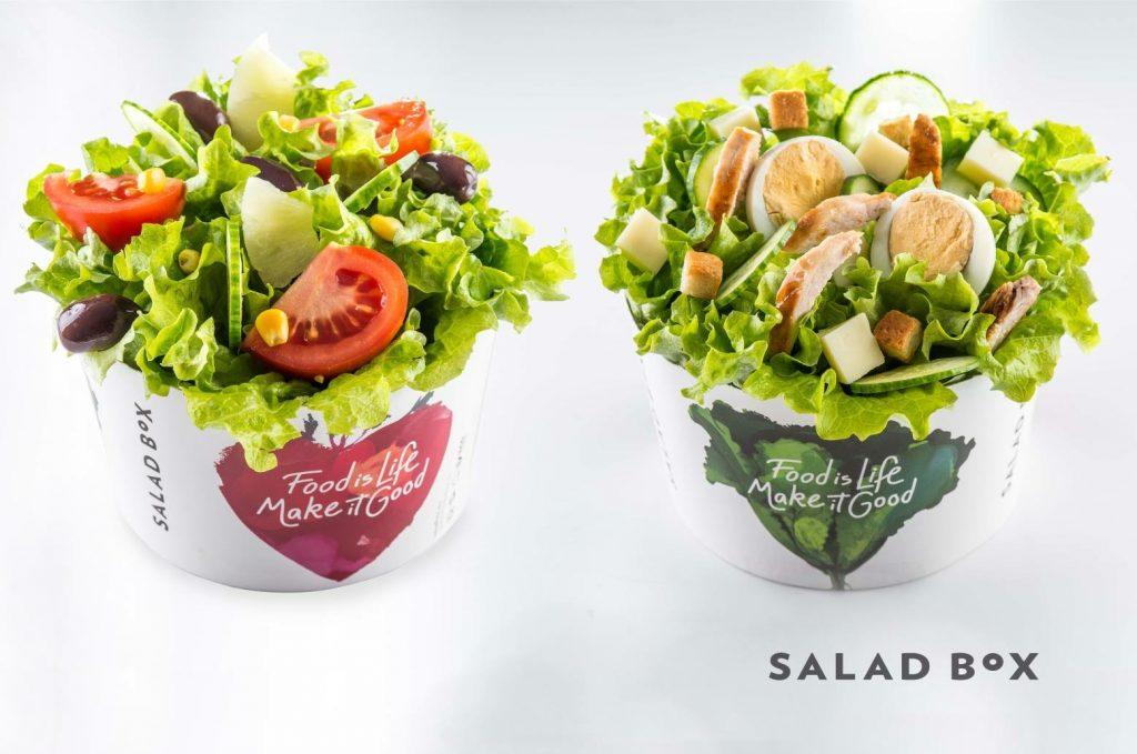 Ensaladas de Salad Box