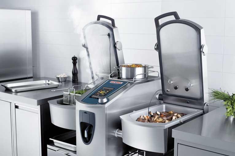 VarioCookingCenter, el equipo multifuncional que permite cocinar, asar y freir, todo en uno