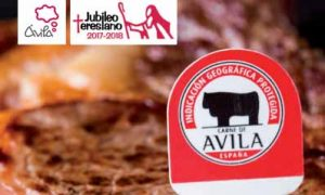 Cartel Muestra gastronómica Carne de Avila