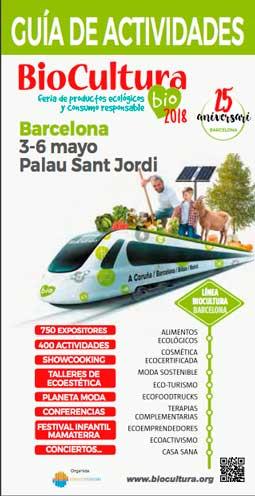 Cartel de BioCultura Barcelona