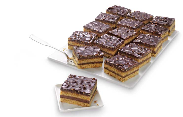Plancha de tarta de almendras de Erlenbacher - Profesional Horeca