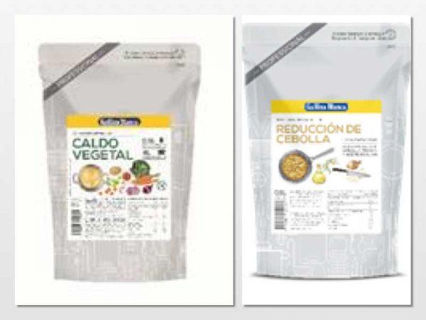 Reducción de cebolla, caldo vegetal, Avecrem sin gluten... tres soluciones Gallina Blanca para restauración