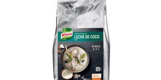 Leche de coco deshidratada: innovación para la comida asiática de Unilever Food Solutions